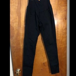 Black indigo blue size medium skinny pants